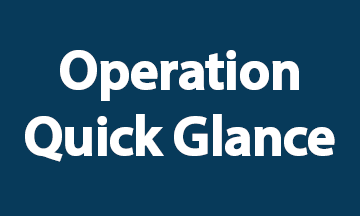 Operation Quick Glance Blue