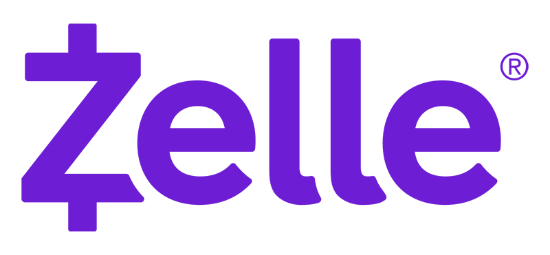 Zelle logo no tagline RGB purple 800